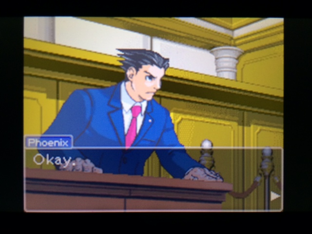 逆転裁判 北米版 弁護側と検察側の追究13