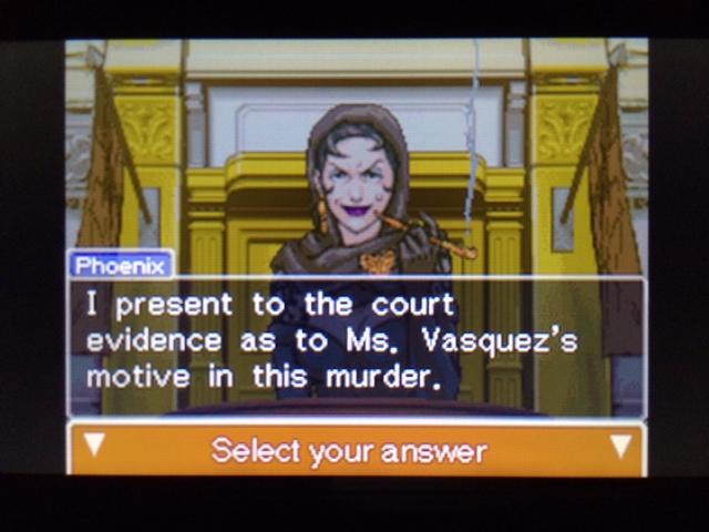 逆転裁判 北米版 弁護側と検察側の追究15