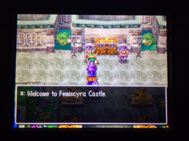 ドラクエ4 北米版 女王国フェミスキュラ22