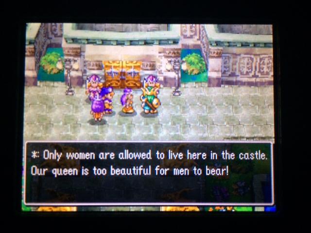 ドラクエ4 北米版 女王国フェミスキュラ24