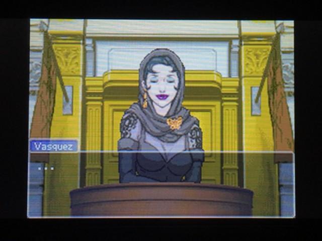 逆転裁判 北米版 ディー・ヴァスケズという名の女2