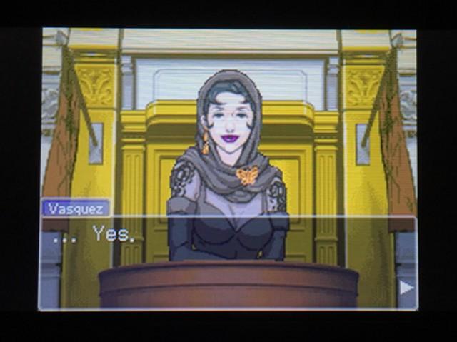 逆転裁判 北米版 ディー・ヴァスケズという名の女3
