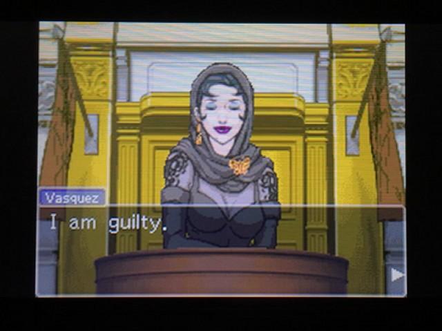 逆転裁判 北米版 ディー・ヴァスケズという名の女4