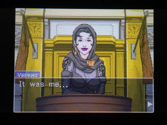 逆転裁判 北米版 ディー・ヴァスケズという名の女5