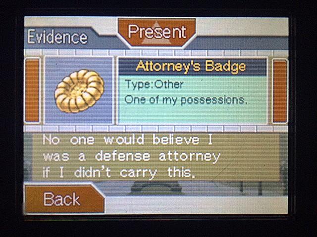 逆転裁判 北米版 エッジワース、拒否の理由2