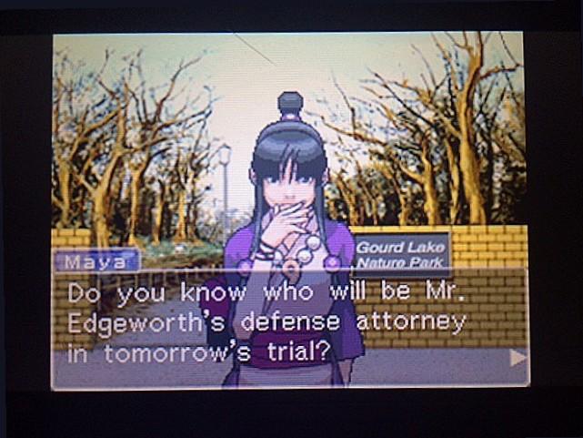 逆転裁判 北米版 エッジワースの弁護士問題3