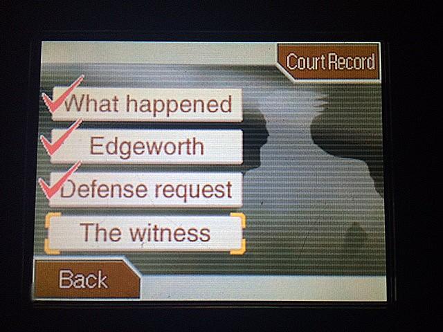 逆転裁判 北米版 目撃者2