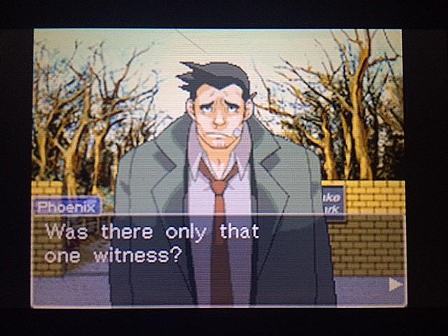 逆転裁判 北米版 目撃者6
