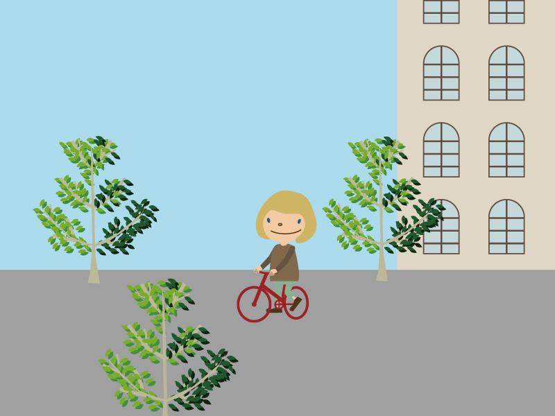 自転車壁紙800×600