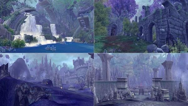 アニメチックファンタジーオンラインゲーム『幻想神域』 新ストーリーや強化システムが追加される大型アップデート第1弾を実装したよ~!!