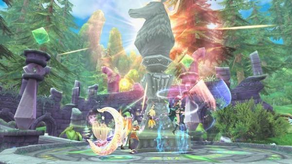 アニメチックファンタジーオンラインゲーム『幻想神域』 6月20日にギルド同士の対人戦「ギルドアリーナ」を実装するよ~!!
