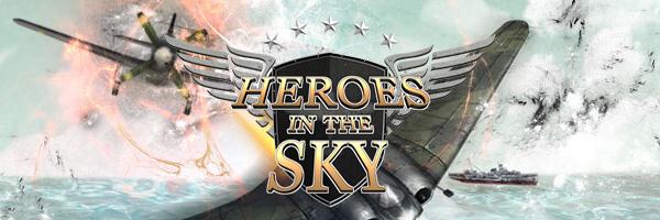 フライトシューティングオンラインゲーム『ヒーローズインザスカイ』