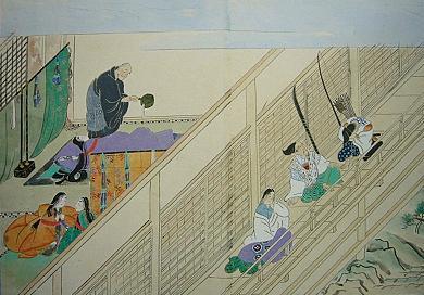 石山寺縁起絵巻