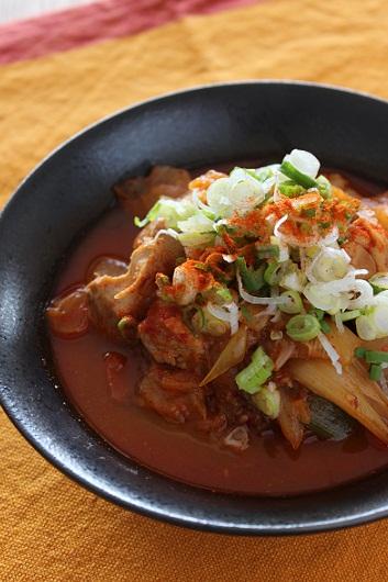 韓国風鶏大根煮
