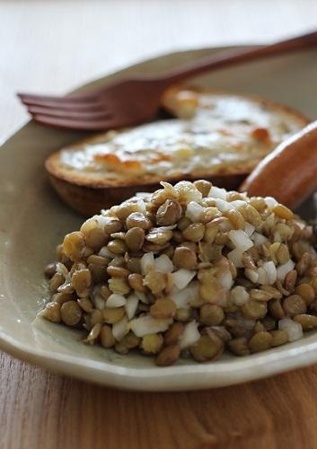レンズ豆のサラダ1