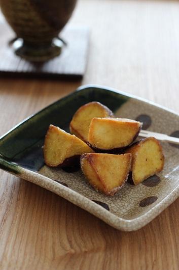 バター風味の揚げ芋