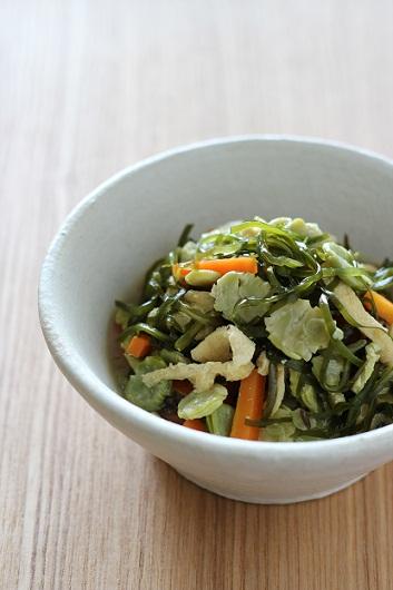 うち豆と切り昆布のさっと煮