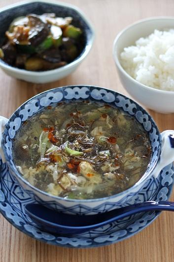 もずくの中華スープ