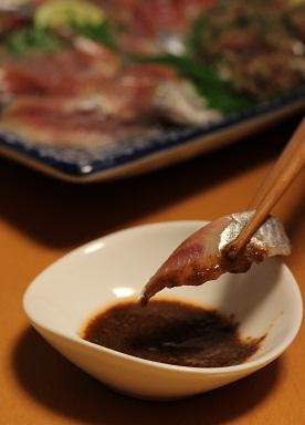 秋刀魚刺身2