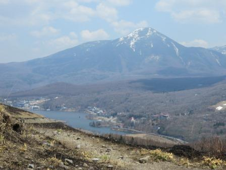 IMG_0472 白樺湖と蓼科山