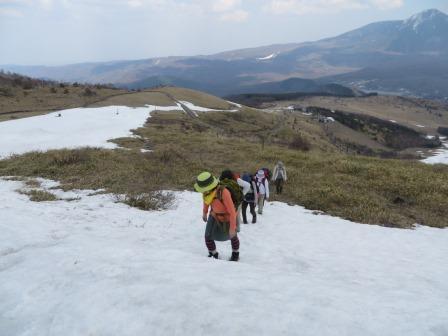 IMG_0485 雪上の登る