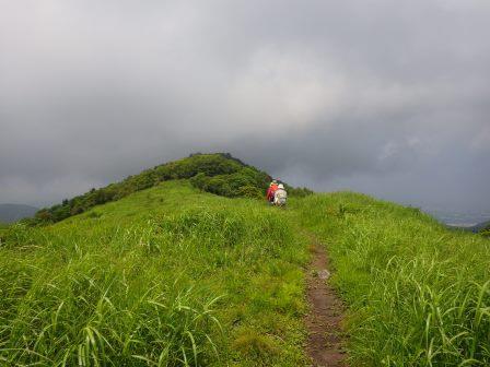 IMGP1514 稜線を進む