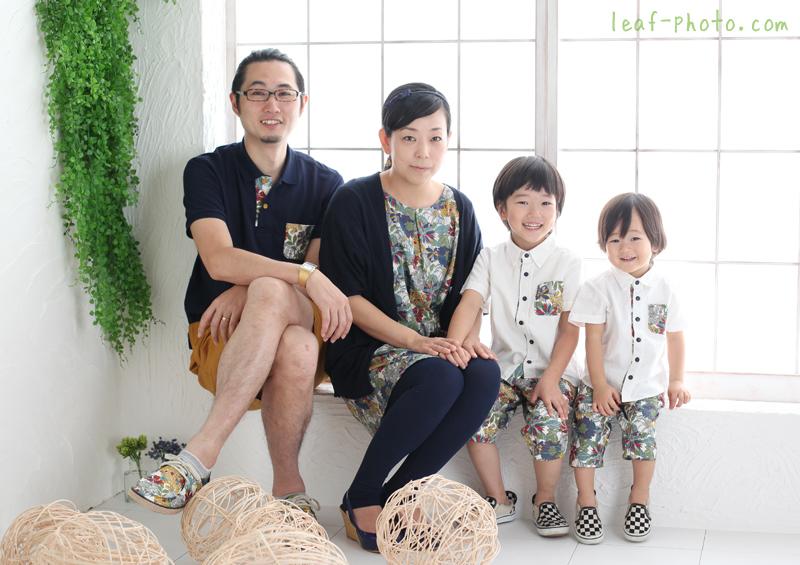 家族写真 カジュアルフォト
