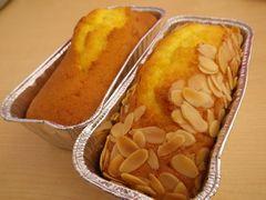 [写真]いちご狩りのお客様から差し入れていただいた手作りパウンドケーキ