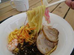 [写真]荒玉食堂のマスターからの差し入れランチ・冷し中華