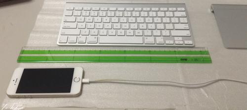 iPhone5sで距離計測(動き始め)