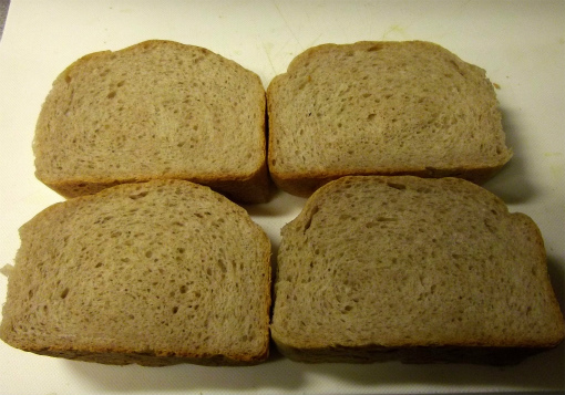 s-412-4普通のライ麦パン