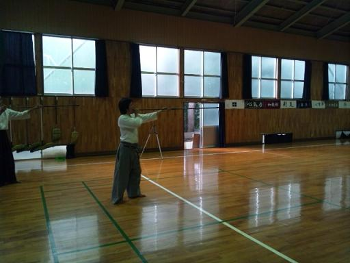 吹き矢講習