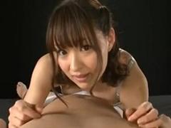 【周防ゆきこ】童顔な痴女に見つめられながら淫語&フェラ手コキでイク!