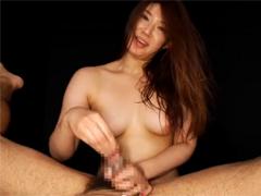 長身ムッチリ熟女:細川まりのマンコ見せつけ淫語&ちんぐりアナル舐め手コキ&下品なフェラで大量発射!