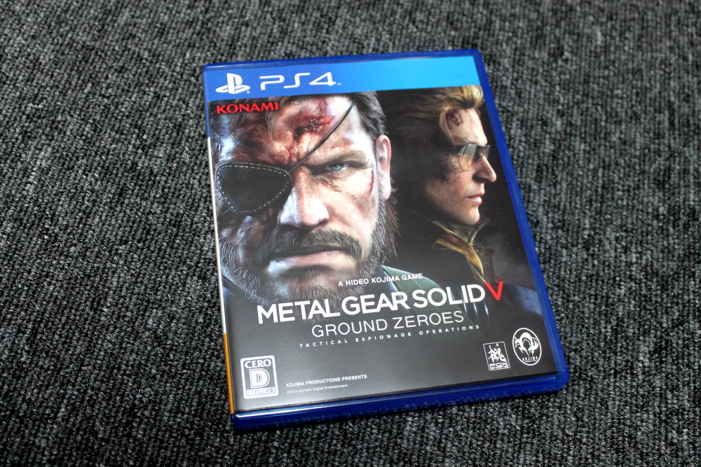 METAL GEAR SOLID V: GROUND ZEROES買ったよ