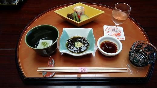 和倉 多田屋( 水曜どうでしょう宿泊) 食事編 (2014年5月)