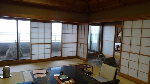 第63期王将戦開催の今井荘貴賓室 (2013年10月) 部屋編
