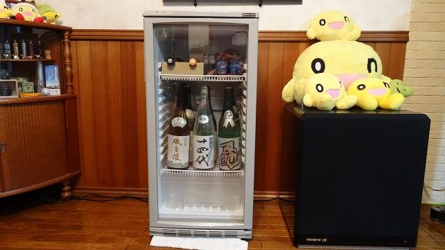 日本酒専用の冷蔵庫を購入 (2014年8月)