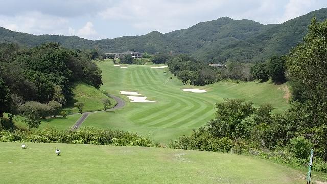 ゴルフ合宿 1日目 鳥羽CC (2014年9月)