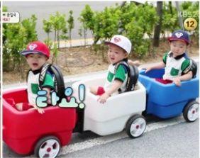 三つ子ちゃん列車